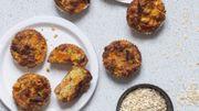Recette : muffins à la patate douce