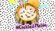 Recette : le #cocktailmelon en un tweet