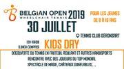 Kids day du Belgian Open: une journée de tennis pleine de découvertes ce 30juillet
