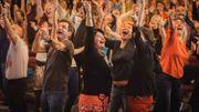 """Une séance de """" Yoga du rire """" : c'est bon pour la santé"""