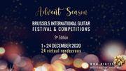 Le Brussels International Guitar Festival & Competitions se réinvente et propose un calendrier de l'avent avec 24 rendez-vous musicaux