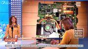 Des composants informatiques recyclés en bijoux