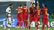 """Belgique - Portugal vu par la presse étrangère: """"La Belgique n'a joué à rien"""", """"Décevants mais efficaces"""", """"La marque d'un champion"""""""