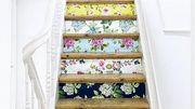 Du papier peint pour les escaliers