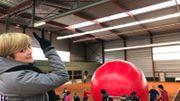 Une énorme boule pour la Cité des géants