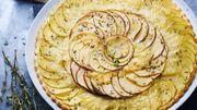 Recette: Tarte fine aux pommes de terre et vacherin
