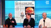 Quick lance un burger imaginé grâce à la reconnaissance faciale !