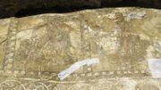 Découverte d'une rare mosaïque romaine à Chypre
