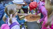 Le Crie de Mouscron accompagne les enseignants qui souhaitent faire l'école dans la nature