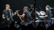 Metallica collecte des vivres