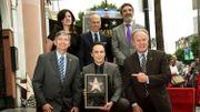 "Hollywood donne son étoile à Jim Parsons, star de ""The Big Bang Theory"""