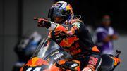 Troisième succès de suite pour Oliveira en Moto2, Xavier Siméon a abandonné