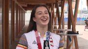 """JO Tokyo 2020  : Nina Derwael a reçu un coup de fil du Roi : """"il m'a dit qu'il était très fier"""""""