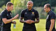 Graeme Jones, Thierry Henry et Roberto Martinez