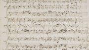 La partition de jeunesse de Mozart vendue à 372.500euros, le double de sa valeur estimée