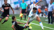 Marseille cale contre Angers et lâche le groupe de tête