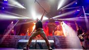 Arrestation au concert d'Iron Maiden