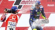 Rossi regoûte à la victoire en s'imposant aux Pays-Bas