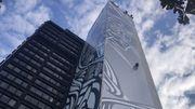 La tour technique de Bruxelles devient la plus grande fresque d'Europe