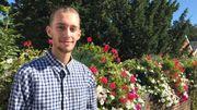 A 21 ans, Dylan Gossiaux vivra ses premières élections en tant qu'électeur et en tant que candidat.