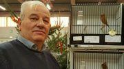 Jean-Luc Petit, passionné de canaris vient d'être sacré champion de Belgique