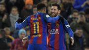 Messi, à nouveau brillant sur coup franc, qualifie le Barça