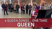 [Zapping 21] Regardez ce petit de 12 ans enchaîner 6 reprises de Queen dans la gare de Londres