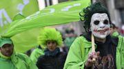 Non-marchand en colère à Bruxelles: plus de 10 000 personnes battent le pavé