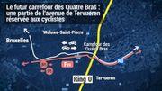 Quatre Bras de Tervueren: en quoi consiste le projet flamand qui fait tant grincer plusieurs communes de Bruxelles?
