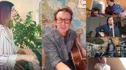 Nos artistes belges assurent le show... de chez eux