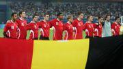 L'équipe belge aux Jeux Olympiques de 2008, contre le Brésil
