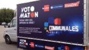 Le Votomaton a fait étape ce vendredi à Waremme