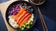 Recette : sashimi bowl