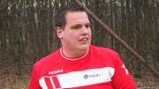 Christopher Delube, joueur du FC Pessoux
