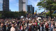 Grève mondiale pour le climat: des milliers de jeunes (et moins jeunes) manifestent à Bruxelles