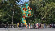 Une gigantesque sculpture à motif wax accueillera bientôt les visiteurs de Central Park