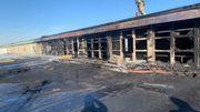Bruxelles: incendie sur le toit du Palais 5 au Heysel, pas de victime