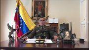 Le colonel José Luiis Silva Silva, attaché militaire du Venezuela à Washington