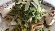 Dans le frigo de Maureen : salade Caesar de truite fumée
