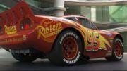 """Flash McQueen appuie sur le champignon dans """"Cars 3"""""""