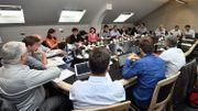 Gouvernement bruxellois: les négociateurs annoncent un accord sur le texte, pas encore sur les compétences