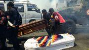 Bolivie: la police disperse une grande marche antigouvernementale