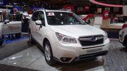 Subaru Forester 2.0D Lineartronic CVT, première européenne