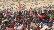 Réfugiés éthiopiens du Tigré, dans le camp d'Um Raquba, au Soudan, le 18 février dernier