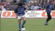 Diego Maradona et l'échauffement le plus incroyable de l'histoire