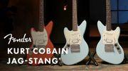 """La guitare Fender Jag-Stang Kurt Cobain pour les 30 ans de """"Nevermind"""""""