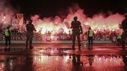 Serbie: 16.000 spectateurs au derby Partizan-Etoile rouge