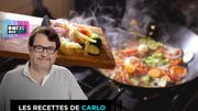 Recette de Carlo: Wok de chou fleur aux champignons, tofu et sauce aigre douce