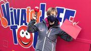 Viva for Life Tour avec Belfius: revivez les premiers moments du bus dans le Hainaut
