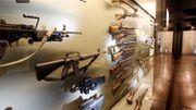 Armes exposées au Grand Curtius (image d'archive)